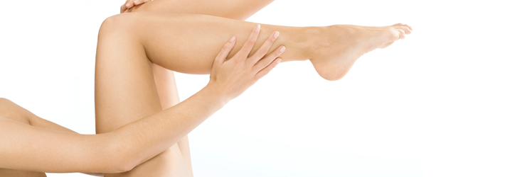 Slender calves – a dream come true with a botulinum (Botox®) treatment at Rosenpark Clinic.